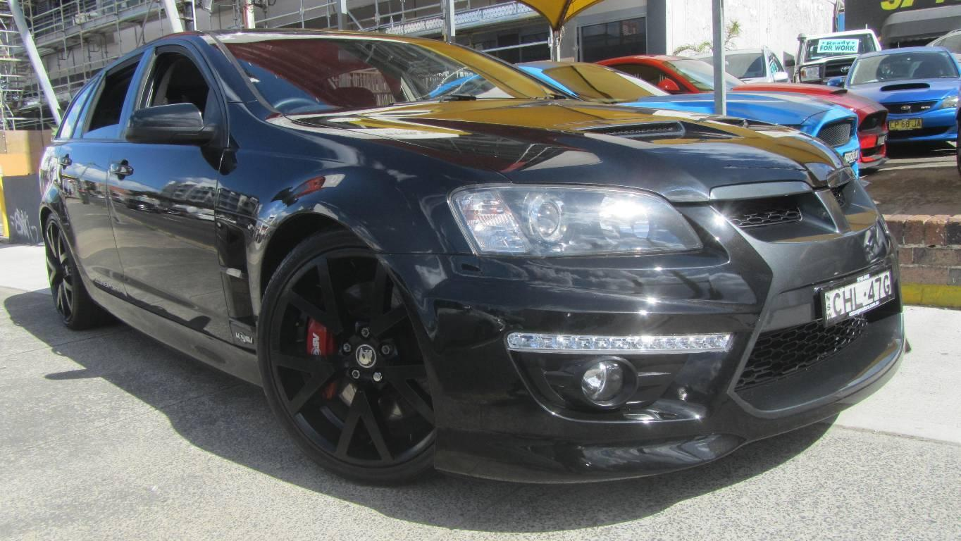 2008 HOLDEN SPECIAL VEHICLE CLUBSPORT E-SERIES MY08 UPGRADE R8 TOURER